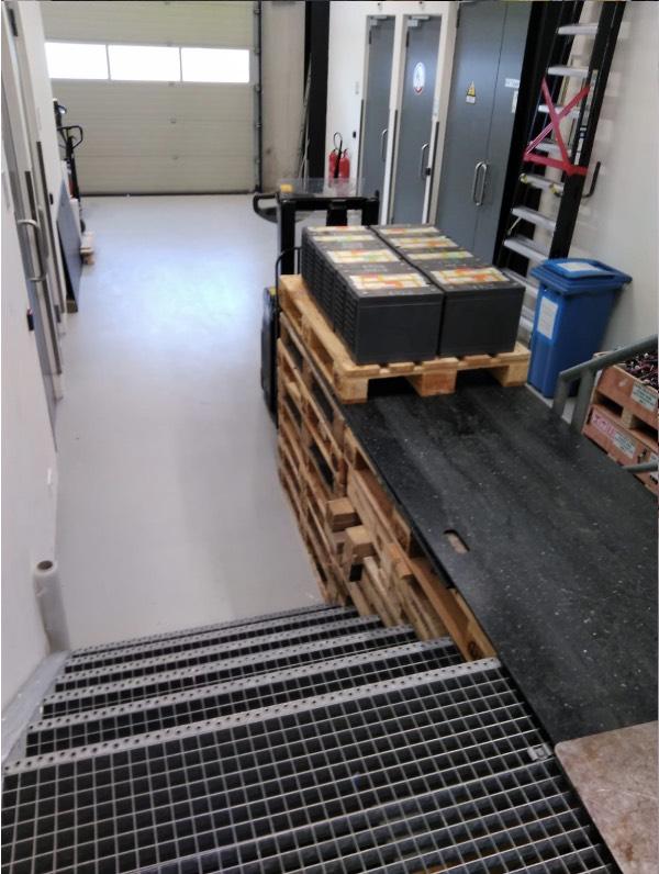 Een mooi staaltje van verhuistechnieken door onze experts van First-Case.